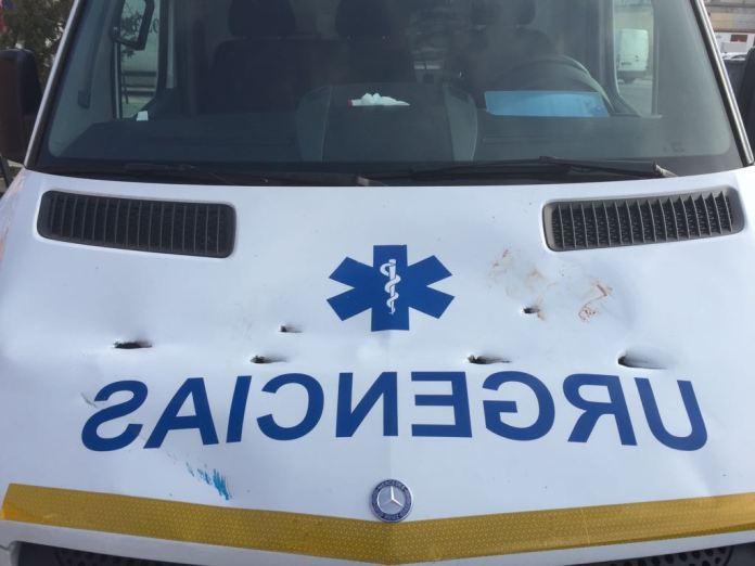 Detenido por atacar con una sombrilla de playa a una ambulancia en Málaga