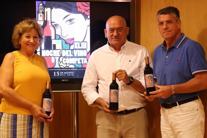 La Noche del Vino de Cómpeta rendirá homenaje al cantaor José Mercé