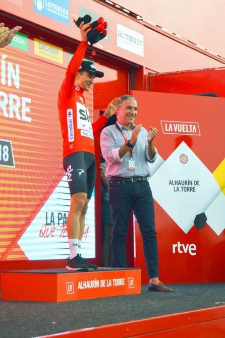 La Diputación de Málaga felicita a La Vuelta por el éxito de las cuatro etapas en la provincia