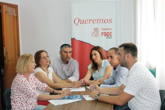 El Gobierno de Susana Díaz destina alrededor de 400.000 euros a Torrox con los nuevos planes de empleo..