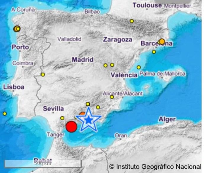 Detectado un terremoto de 4,2 en la costa de Fuengirola