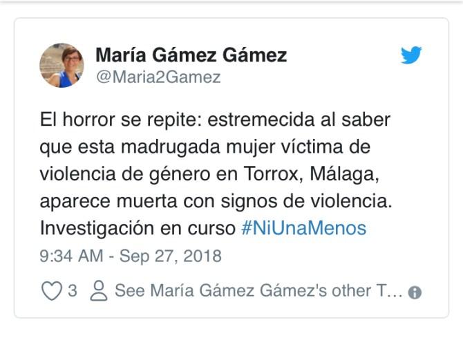 Hallan el cadáver de una mujer apuñalada en su casa de El Morche en un nuevo caso de violencia de género