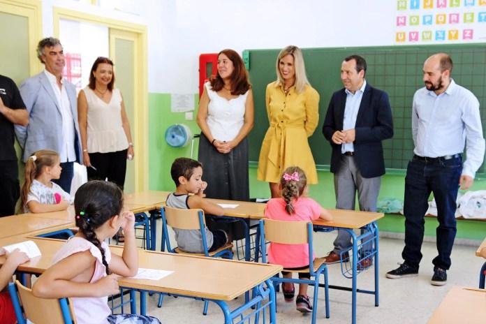 Un total de 435 centros educativos acogen a 153.880 escolares de segundo ciclo de Infantil, Primaria y Educación especial