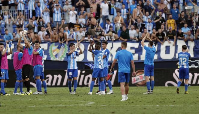 La adaptación al torneo del equipo malaguista está siendo insuperable a nivel de resultados.