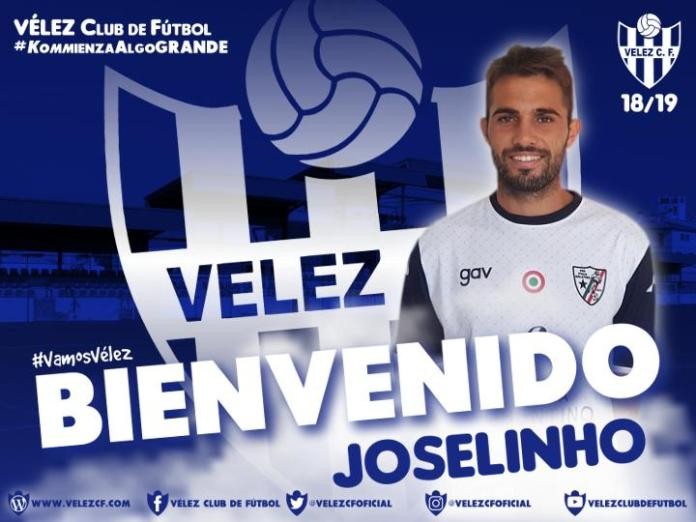 Joselinho, nuevo jugador del Vélez C.F.