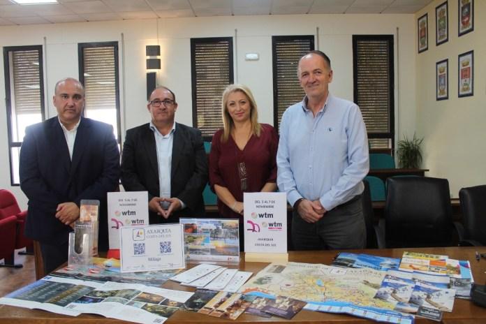 La Axarquía Costal del Sol acude a la World Travel Market para mostrar nuevos atractivos al turista británico que llega a la provincia de Málaga
