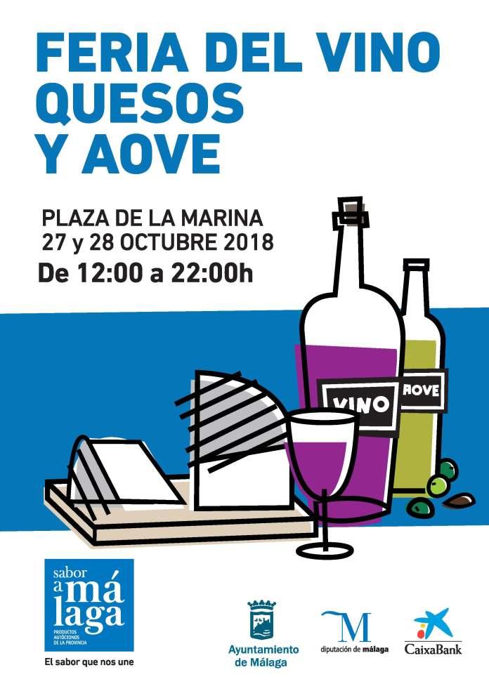'Sabor a Málaga' celebra su segunda Feria de Quesos, Vinos y AOVE en la Plaza de la Marina este fin de semana