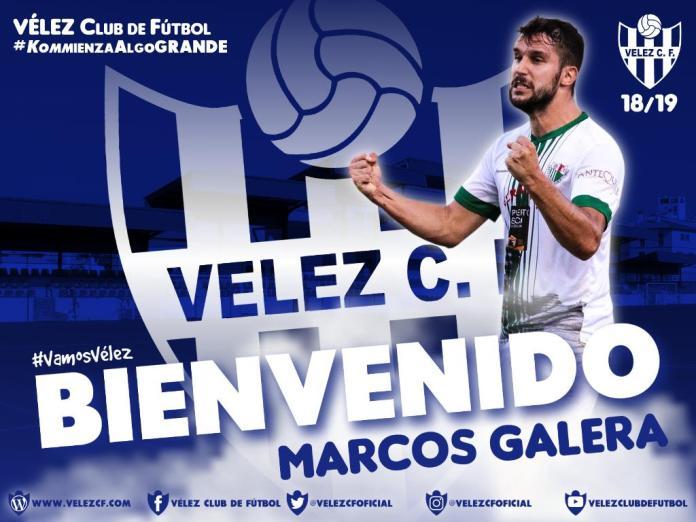 Marcos Galera, nuevo fichaje del Vélez C.F.
