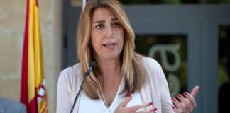 Durante una comparencia ante los medios de comunicación, la presidenta andaluza ha explicado que en las últimas semanas ha constatado la imposibilidad de sacar adelante los Presupuestos de la Comunidad al no contar con el apoyo de Ciudadanos.
