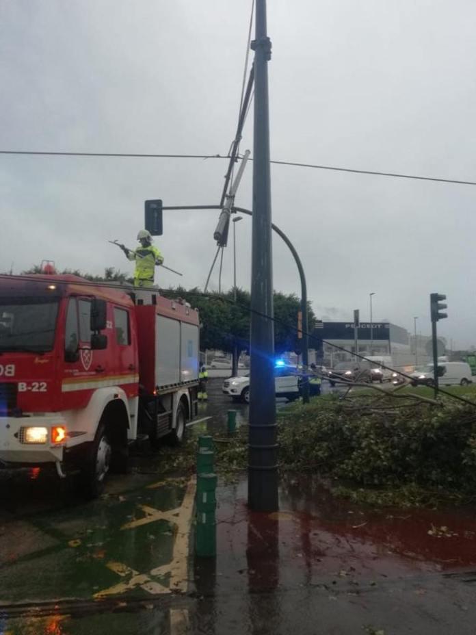 Datos de la lluvia registrada en el municipio de Vélez-Málaga