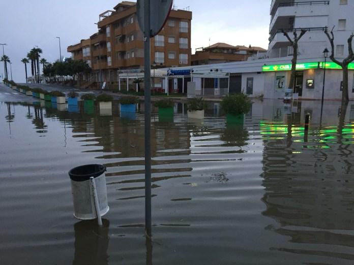 Ascienden a 155 las incidencias registradas en toda Andalucía a causa de los efectos de las lluvias