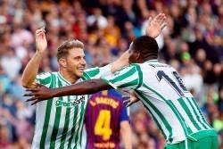 El Betis gana al Barça en el Camp Nou 20 años después