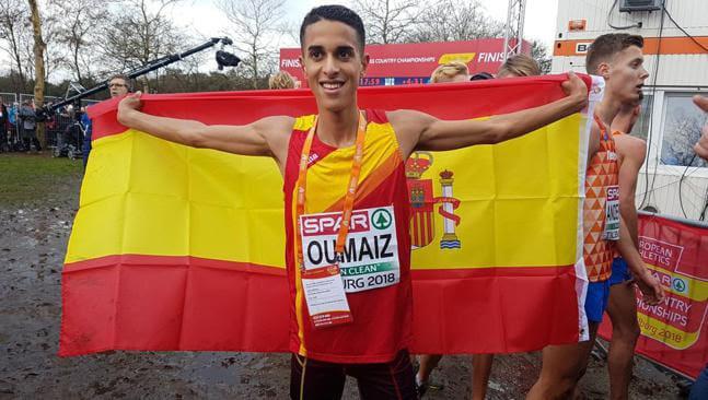 Ouassim Oumaiz, plata Sub-20 en el Campeonato de Europa de Cross