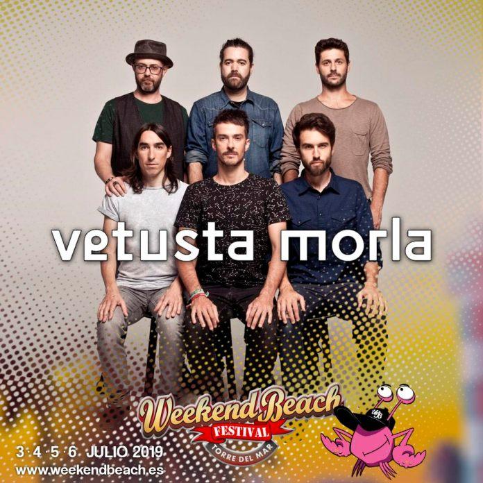 Vetusta Morla actuará en el Wekeend Beach Festival de Torre del Mar