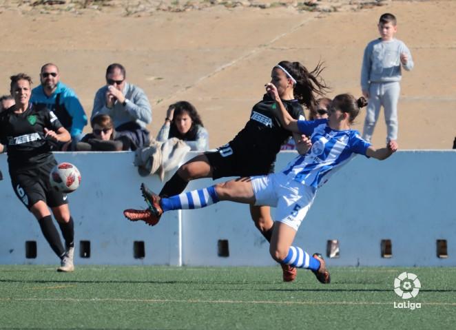 El Málaga Femenino no puede sumar en Huelva (2-0)