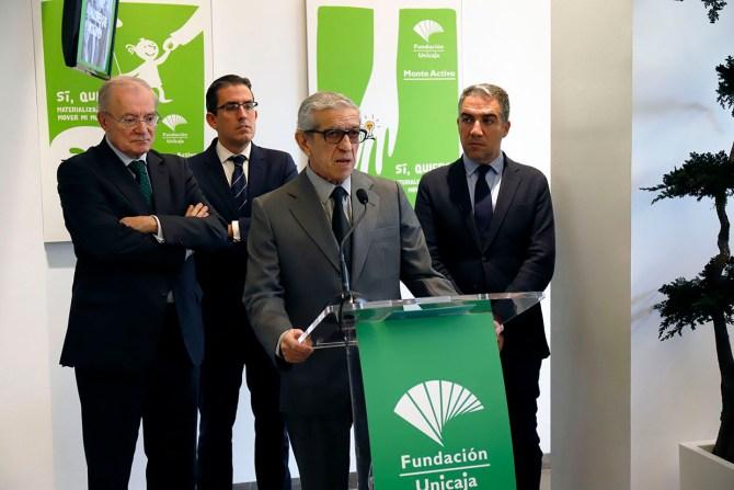 El origen de los antiguos Montes de Piedad de la Fundación Unicaja está ligado al de las cajas de ahorro. En Almería y Cádiz su constitución se remonta hasta el siglo XIX, y el de Málaga surgiría ya en la primera mitad de siglo XX estrechamente vinculado a la antigua Caja de Ahorros de Ronda.