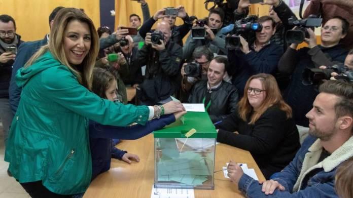 El PSOE, con 28.2 por ciento gana las Elecciones en Andalucía con 33 diputados, 14 menos de los que obtuvo en el año 2015.