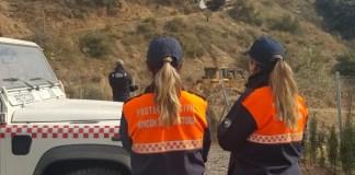La Agrupación de Protección Civil de Rincón de la Victoria ha permanecido hasta el último día del dispositivo en jornada ininterrumpida de 9:00 a 00 horas.