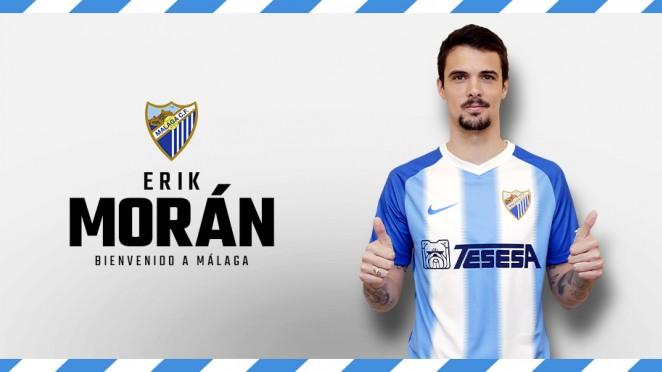 """Morán: """"Tengo ganas de ponerme la camiseta del Málaga y ayudar"""""""