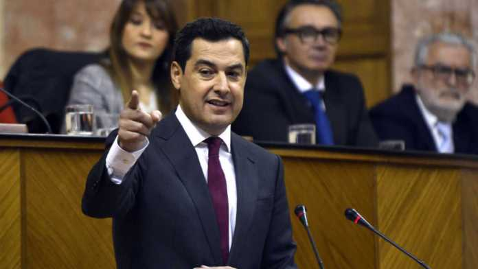 Moreno Bonilla, nuevo presidente de la Junta de Andalucía con los votos de PP, Ciudadanos y Vox