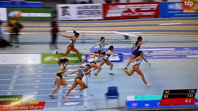 Cinco finalistas para el Club Nerja de Atletismo Nerja en el Campeonato Nacional absoluto en pista cubierta