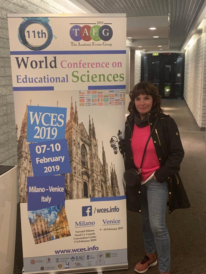 La Conferencia Mundial de Ciencias de las Educación 2019, evento internacional anual, se ha celebrado en Milán y Venecia del 7 al 10 de febrero.