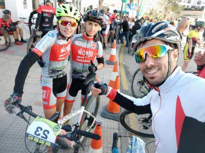 Buenos resultados para el Club Rincón Sport Team en el Circuito Provincial MTB de Frigiliana