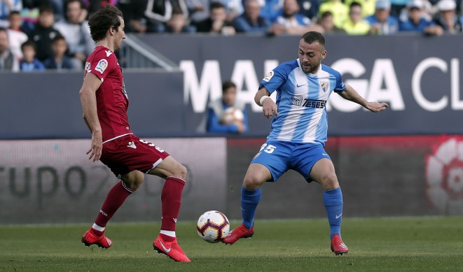 El Málaga CF empata en casa en un duelo muy equilibrado (0-0)