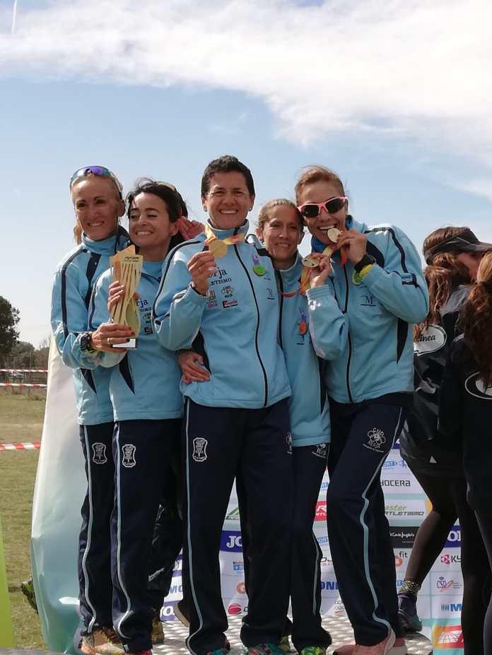 El equipo femenino W40 del Cueva de Nerja -UMA se proclama Campeón de España de Cross