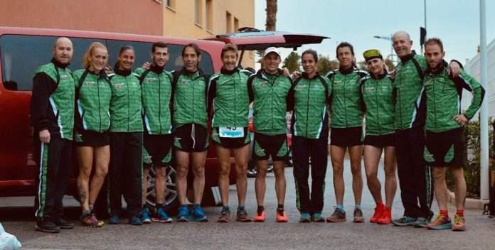 Excelente actuación de los corredores Club Nerja de Atletismo con la Selección Andaluza de Trail