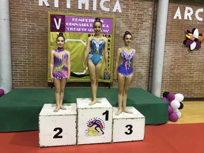 El Club Gimnasia Ritmica Costasol participa en el Torneo Gimnasia Rítmica Archidona y 1º Fase del Torneo Al Ándalus
