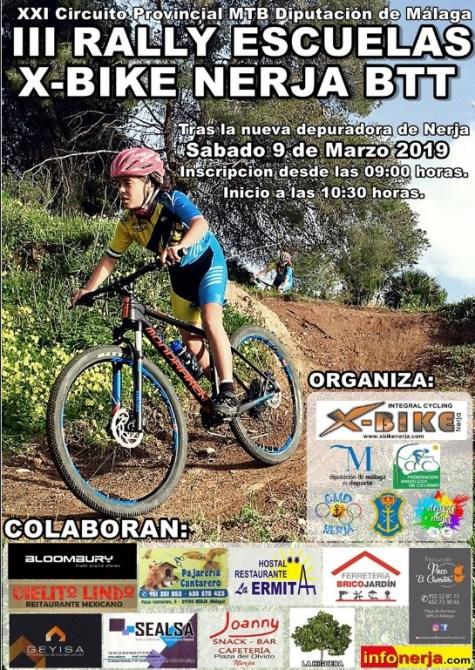 Los jóvenes del Rincón Sport Team, preparados para el Rally Escuelas XBike Nerja