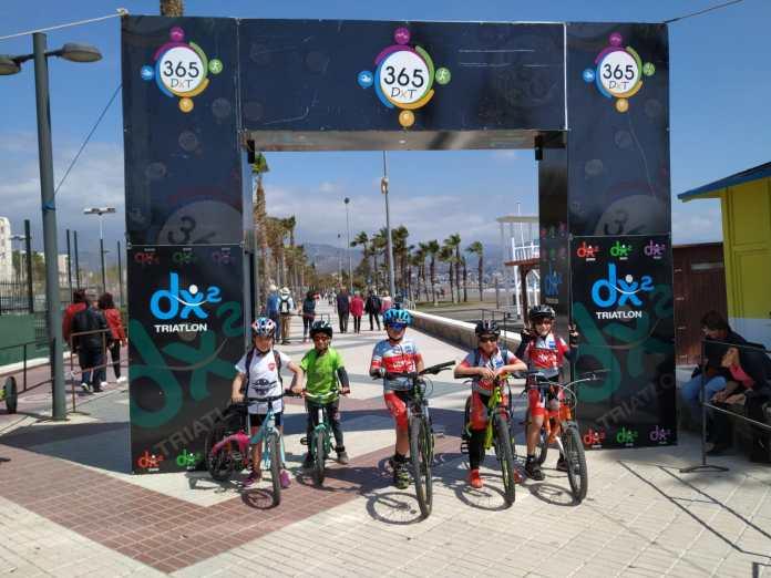 Fin de semana de entrenamiento y triatlón para los jóvenes del Rincón Sport Team