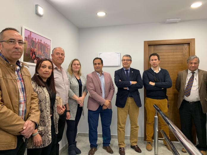 La Diputación de Málaga financia la ampliación del gimnasio municipal de Sayalonga
