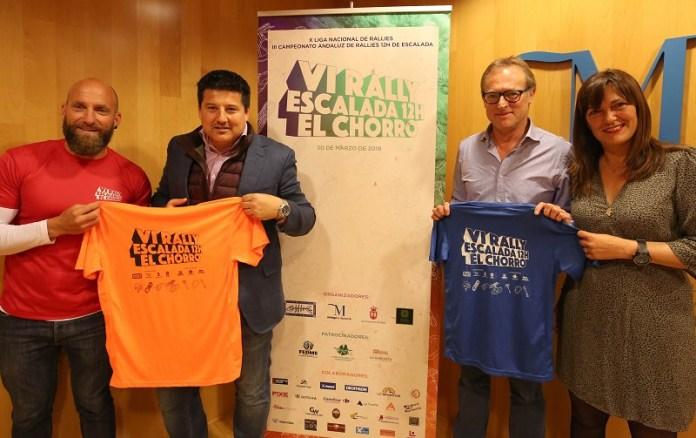 La competición abre la X Liga Nacional de Rallyes y el III Campeonato Andaluz de Escalada.