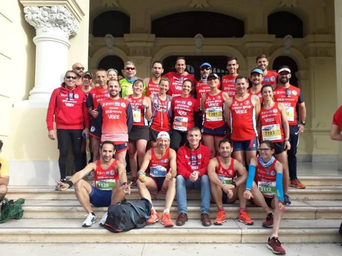 Un total de 29 corredores del Club Atletismo Rincón Fertilidad Vélez participan en la Media Maratón de Málaga