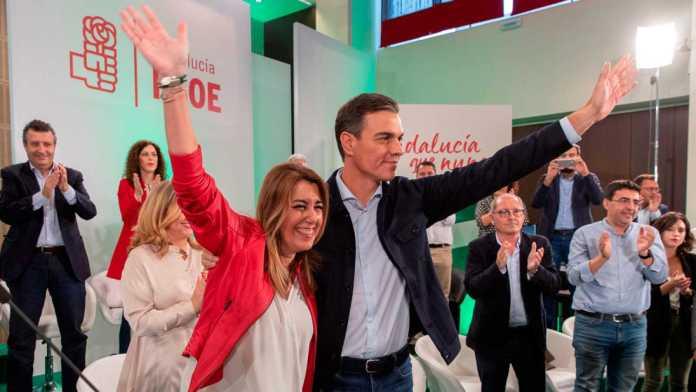 El PSOE se recupera en Andalucía, según los primeros sondeos