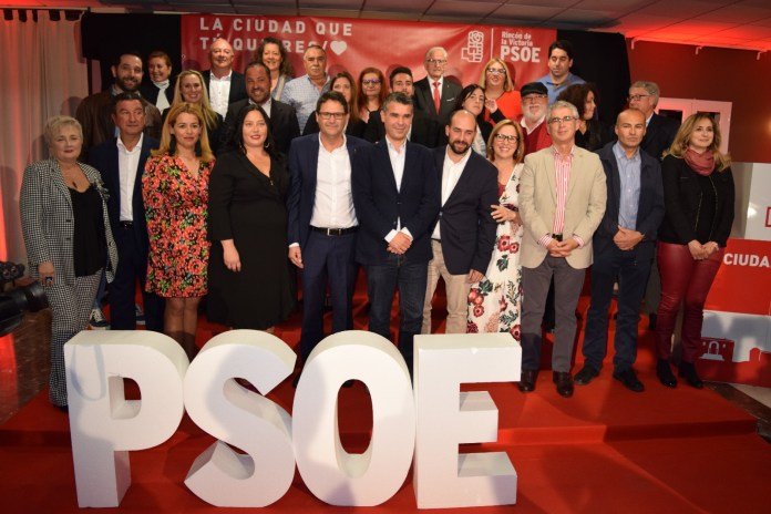 El PSOE presenta su candidatura para recuperar el Gobierno de Rincón de la Victoria