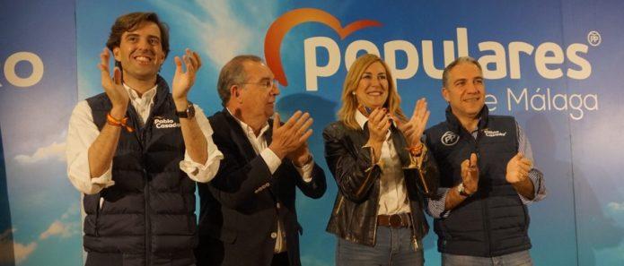Bendodo prevé el mejor futuro para la Axarquía con un Gobierno central y una Junta del PP