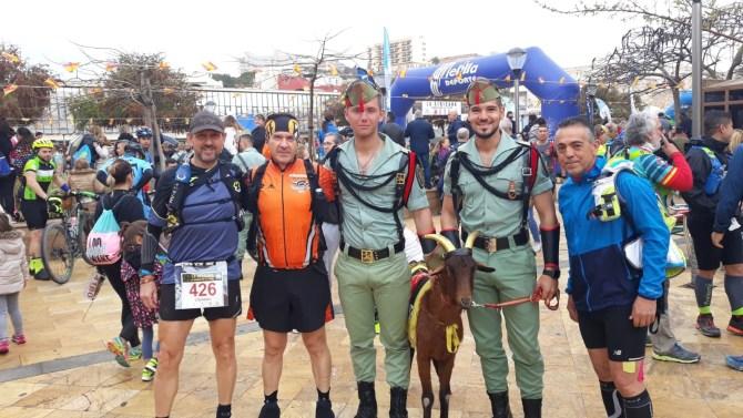 La Africana es una carrera de ultrafondo de 50 kilómetros que en esta edición ha vuelto a batir récord de participación con un total de 3.657 deportistas.