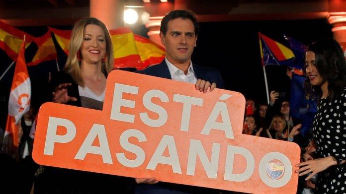 Albert Rivera celebra el resultado de Ciudadanos y promete que algún día gobernarán España