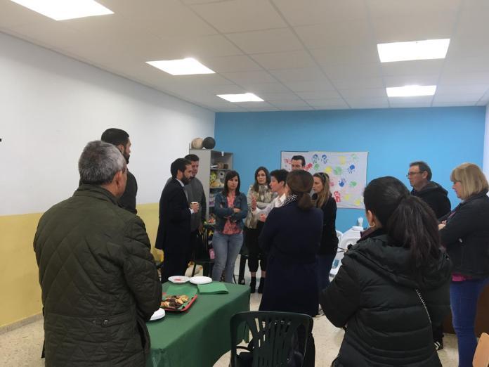 La Diputación muestra su compromiso con las asociaciones de autismo de la provincia de Málaga