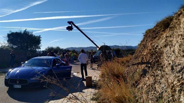 Axarquía Film Office destaca el impacto económico del rodaje de la serie Toy Boy en la comarca