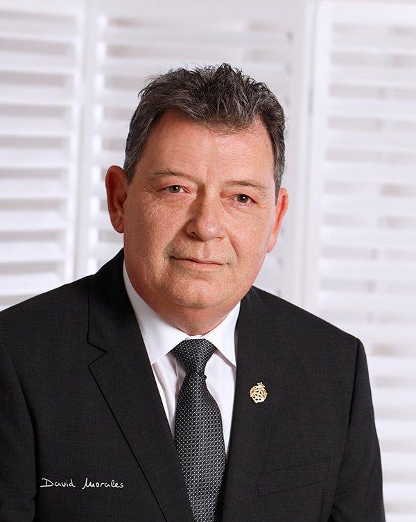Francisco Javier García del Corral, presidente de la Agrupación de Cofradías de Semana Santa de Vélez-Málaga.