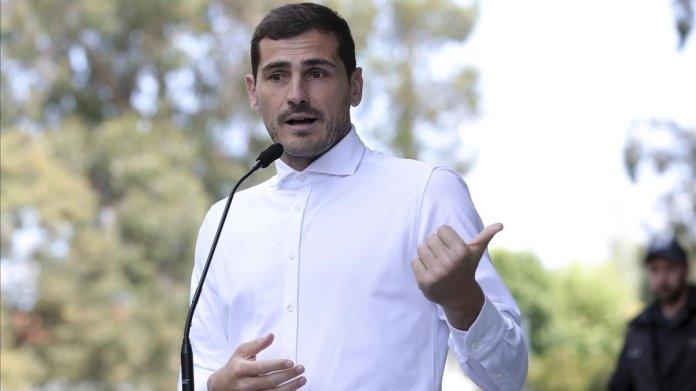"""Iker Casillas sale del hospital: """"No sé qué será el futuro pero lo más importante era estar aquí"""""""