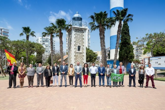 VOX presenta su candidatura en Vélez-Málaga liderada por Javier Herreros