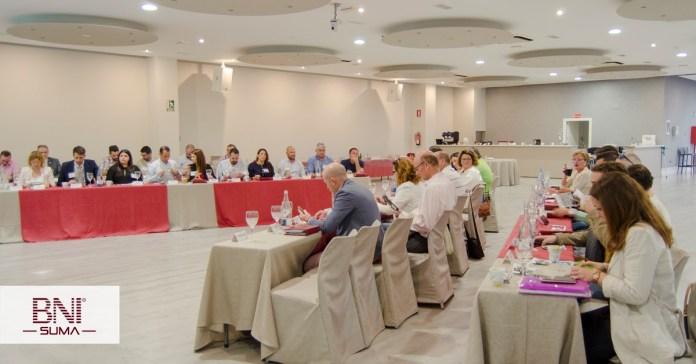 Imagen archivo grupo de networking empresarial BNI.