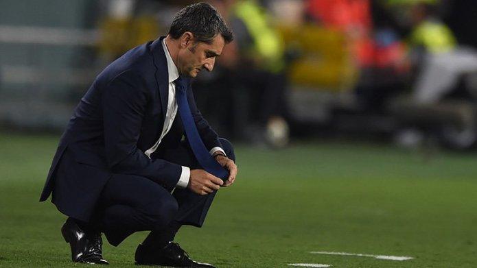 Ernesto Valverde no seguirá en el Barcelona