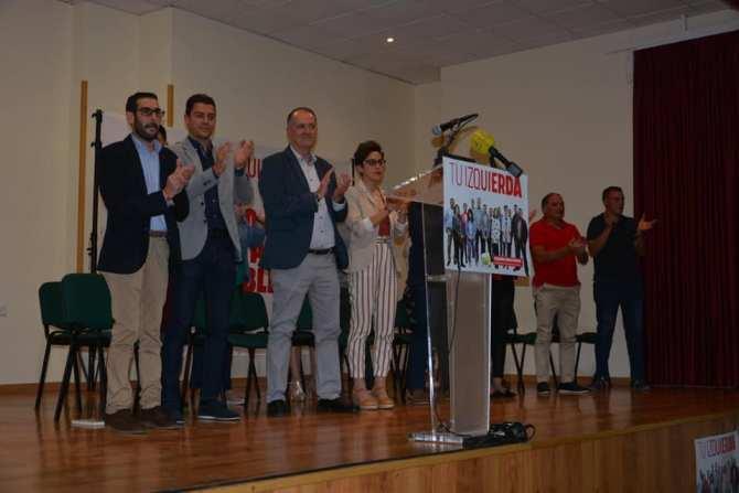 IU Periana presenta su candidatura a las Elecciones Municipales encabezada por Javier Segarra Pascual