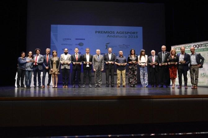 La Asociación Andaluza de Gestores del Deporte premia al programa 'Más Deporte, Más Mujer' de la Diputación de Málaga
